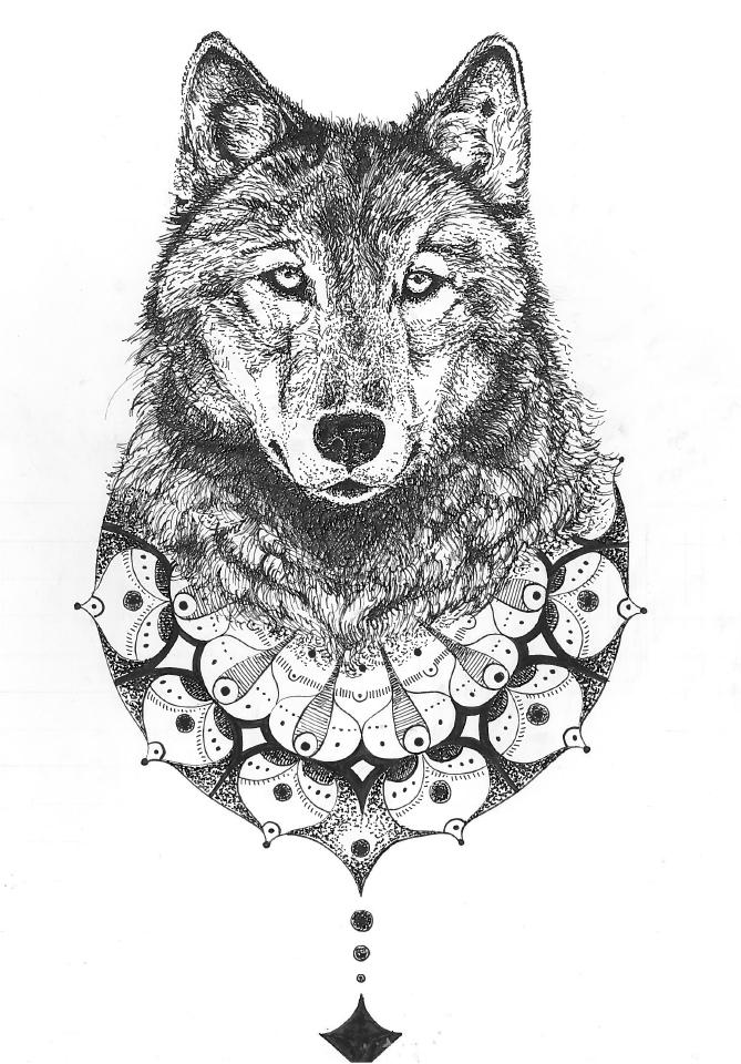 Wolf spirit - Pen