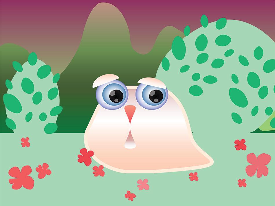 Lost Slug - Illustrator